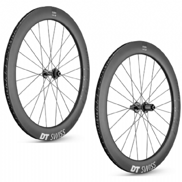 Paire de roues carbone ARC 1400 DICUT 62 Disc DT SWISS